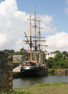 Charlestown Ship Cornwall