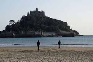 St Michael's Mount Maraion Cornwall