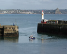 Newlyn harbour Cornwall