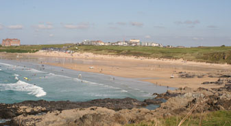 Fistrall Beach Newquay