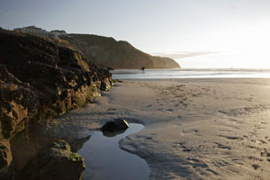 Perranporth Beach Cornwall