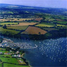 Mylor Cornwall image kindly supplied by Cafe Mylor a great dog friendly place to eat in Cornwall
