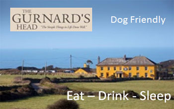 Dog Friendly Places to eat in Cornwall The Gurnards Head